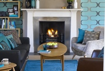 Turquoise Living Room Decor / Lounge / by Holly Payne