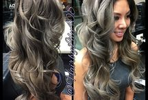 Hair styling / Gray and beautiful