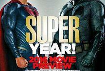 Cineplex Magazine / Batman vs.Superman in Cineplex Magazine January 2016