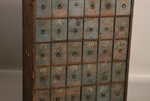 Apothecary Cabinets/Drawers