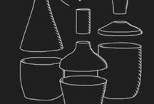 """Forma14 / design by jpeglab  for 14oraitaliana  """"Omaggio a Giorgio Morandi; Le bottiglie diventano forma.  Ogni forma è composta da tre moduli impilabili e interscambiabili. Questo ci consente di creare 27 forme diverse, che diventano 54 se si considerano le basi + i corpi, i corpi + le teste, o i singoli moduli.  Forma14 é un prodotto rigorosamente fatto a mano con un'argilla italiana certificata e di prima qualità."""""""