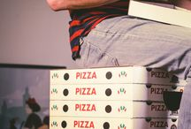Pizza / Pizza deserves 3 boards.