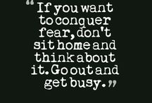 Quotes About Fear / Fear Quotes
