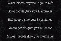 Le buone parole...