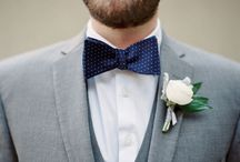Bow Ties / Handmade bow ties for weddings and other awesome occasions!