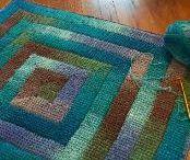 Spiral Blanket Crochet