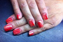 Unghie mie / Le mie unghie mensili fatte da un'artista di nome Tania ! Bravissima ...