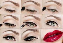 Maquiagem do dia / maquiagem e beleza