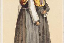 German folk costumes