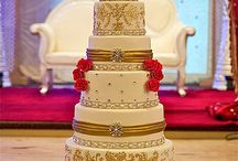 Wedding cake / Cake gold