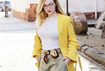 Gelb - die Trendfarbe im Herbst