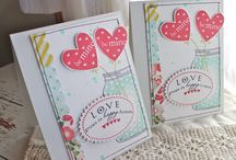 Love is in the air / Valentine Card Scrapbooking Inspiration / by Scrapbook Expo