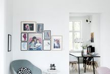 mini gallery wall