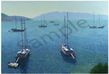 Buy Prints of Simon Kojin's Mediterranean Serenity at www.amberite.gallery