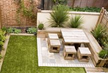 Garden ideas / Low maintenance dog and child friendly