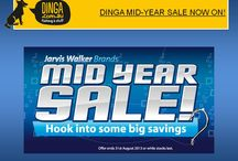 DINGA MID-YEAR SALE NOW ON! / Dinga Fishing & Stuff has great news for all great anglers in Australia that in this Mid-year sale we are going to offer fishing products with the lowest price in whole Australia. Including fishing rods, tackle, line, reels, boating and combos stuff from all leading brands such as Jarvis Walker, Van Staal, Fin-Nor, Ryobi, Penn and others.