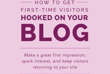 All Things Blogging / Tips and advice relating to blogging as well as blogging inspiration and ideas