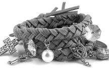 Armbanden met leer