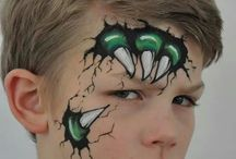 pintura facial meninos