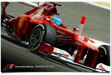 FORMULA 1 - 2012 / The cars and drivers of the 2012Formula 1 Season. Sebastian Vettel, Red Bull Racing is the defending champion / by Brian Jakovina