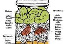 Saladas de Pote