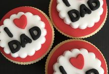 Fathers Day Edible Cupcake Toppers Decorations / Fathers Day cake Cupcake Toppers Decorations  #fathersdaycupcaketoppers #fathersdaygifts #fatherdaycupcakes