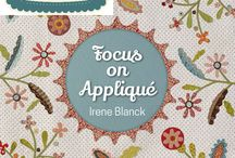 Focus On Appliqué by Irene Blanck - QUILTMANIA Editions / http://www.quiltmania.com/product/L/GB/1638/focus-on-appliqu-a.html