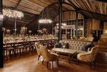 Barn style restaurant
