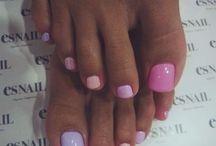 Nails-Beau pedi's