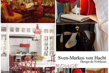 Rouge de Noblesse by Sven-Markus von Hacht / Sven Markus von Hacht - Design de Noblesse Homeware im Royal Rouge