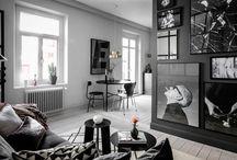 Déco noire / Vous cherchez à dynamiser votre décoration intérieure en un clin d'œil tout en lui apportant une note profonde ? Avez-vous pour cela pensé à la couleur noire ?
