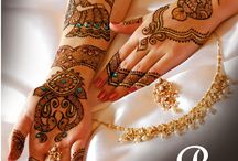 Bridal Henna  / Sharing some of the special moments with brides-to-be. A touch of Artistic Henna for their special day - gives me the opportunity to share my love & my passion for mehndi.