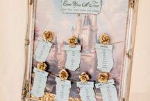 Wedding Table plans / Disney themed table plans
