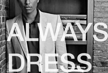 Dress men style / Clothing