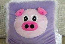 Piggy Cushion / Pillow