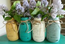 Wedding decor using Annie Sloan / Decorate your wedding using chalk paint / by ReBorn Home Furnishings