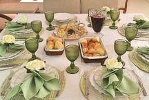 Organizar mesa jantar