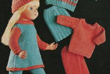 Sewing and knitting for Dolls