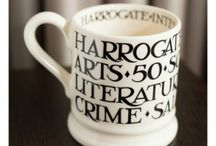 50th Anniversary Mugs / Beautiful Emma Bridgewater Mugs exclusively made for the Harrogate International Festivals 50th Anniversary