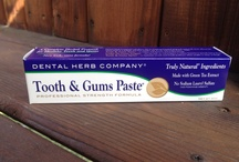 Sodium Laurel Sulfate Free Toothpastes / by Natural Gumption