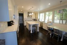 78 - San Clemente Kitchen Remodel / Kitchen Remodel with Wood Floor in the whole house in San Clemente OC
