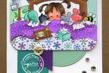 Get Well / Cards and Gift Ideas using SugarPea Designs clear stamps.