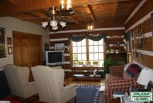 Living/Great Rooms / Appalachian Log & Timber Homes Client Living/Great Room Gallery
