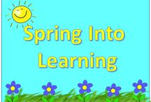 Spring Into Learning / This is a collaborative educational board for anything spring related.  Please try to pin some free items, or teaching ideas along with your paid products.  If you would like to be added to this board please follow me on pinterest and send your request to scook2000@comcast.net / by My Kinder Garden