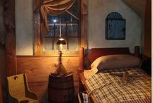 Cozy Bedrooms ♥ Farmhouse Rustic &  Primitive / Cozy bedrooms for all decor / by Sheepscot River Primitives