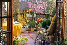 Balkon, Teras ve Bahçe