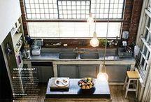 Kitchens...industrial, vintage or rustic?