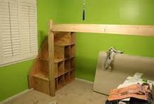 Lofted Bed