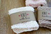 Printable knit gift labels