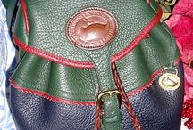 Teton Vintage Dooney and Bourke AWL Bags / The Teton Collection from Dooney and Bourke is a versatile, classic collection comprised of a selection of bi-colored bags and accessories in a variety of colors.